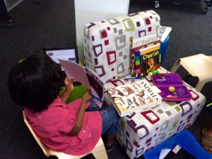 Books as concept manipulatives.
