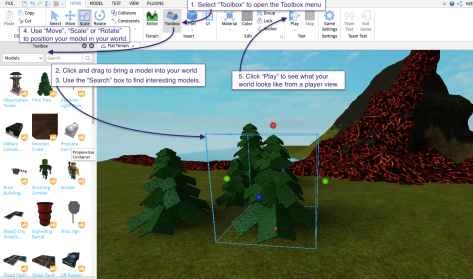Getting started with Roblox Studio in the library or classroom | The