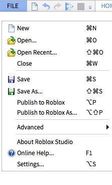 Roblox Save Publish