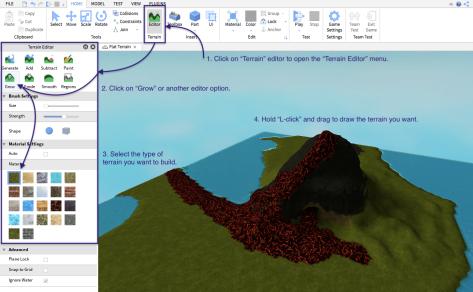Roblox terrain