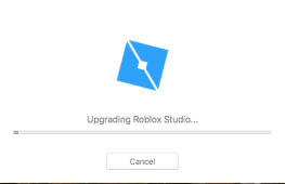 Roblox Upgrading window